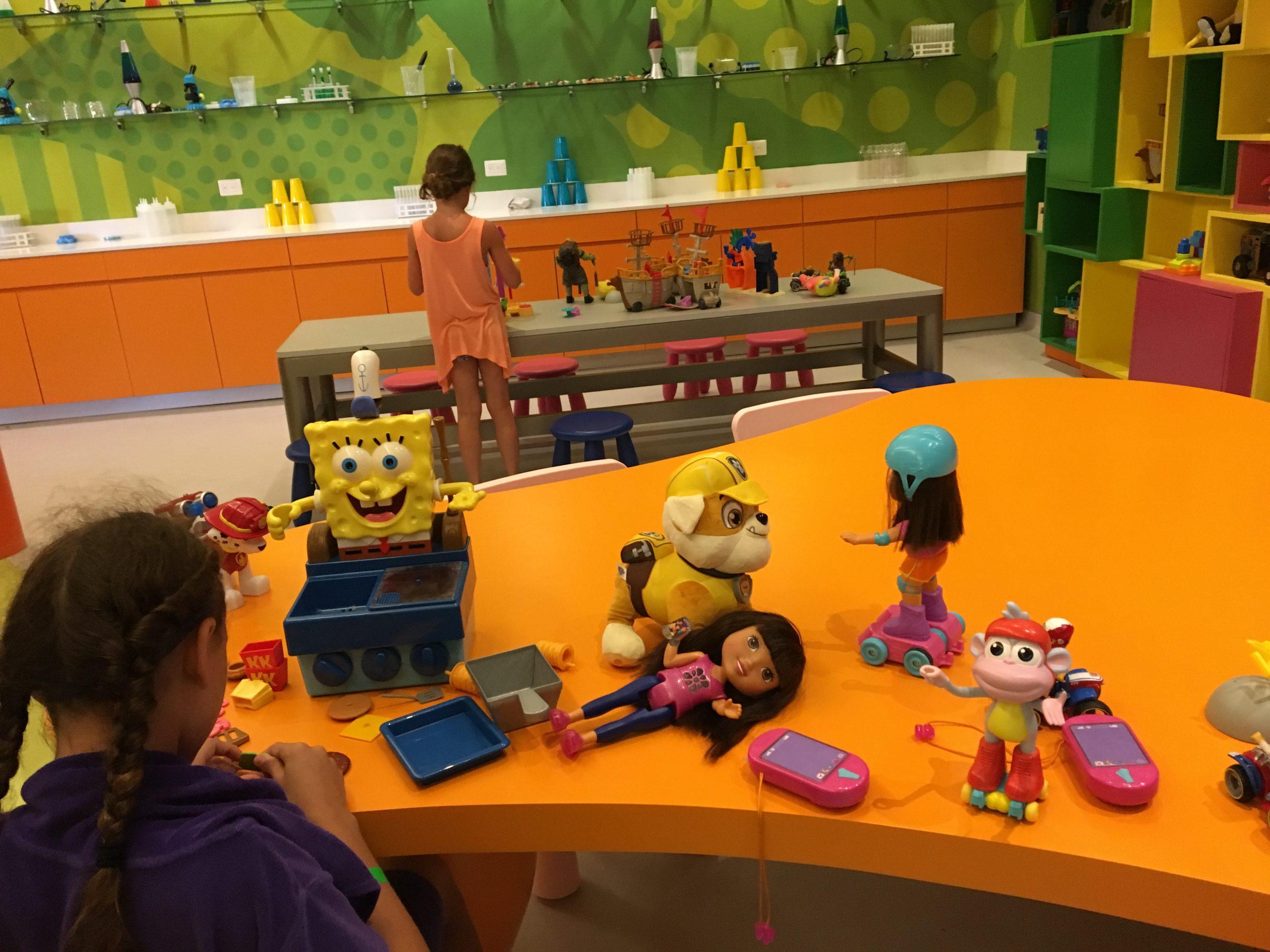 So many toys at kids club Nick Punta Cana
