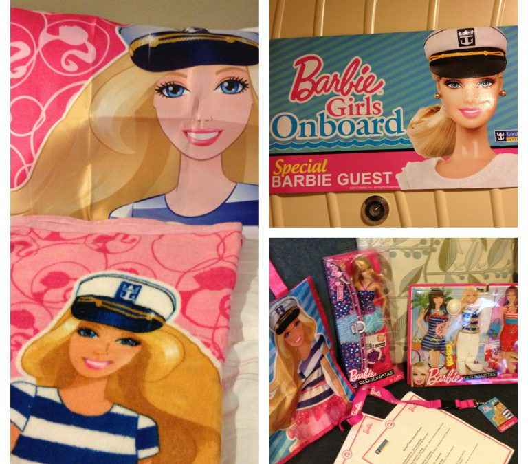 Special guest of Barbie on Royal Caribbean's biggest ship