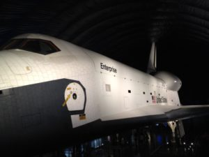 Space Shuttle Prototype Enterprise at Intrepid Museum in NYC