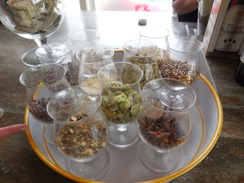 Spices used in Ommegang beers