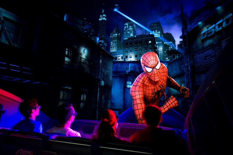 The Amazing Adventures of Spider-Man attraction