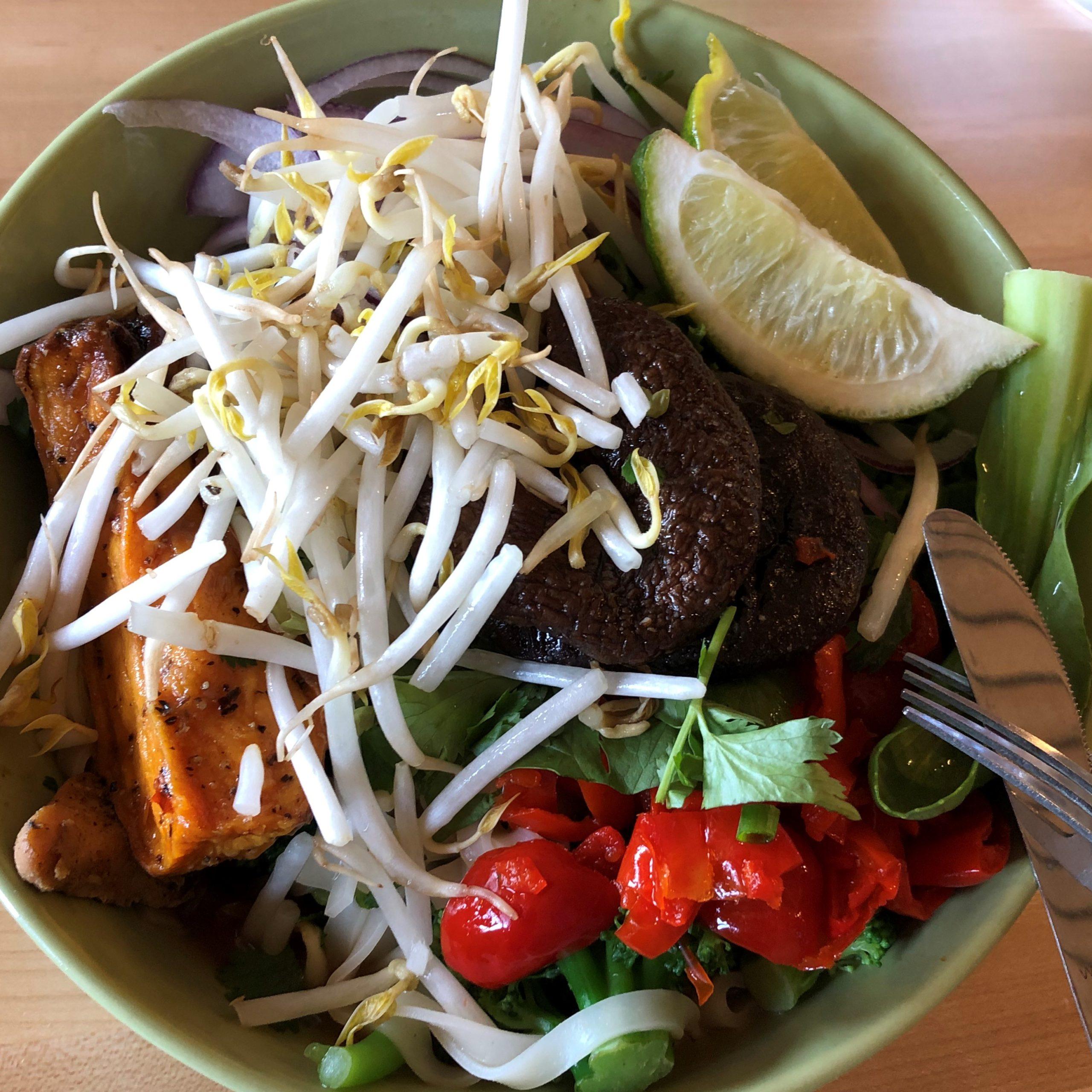 Spruce Saddle restaurant at Beaver Creek Ski Resort offers Pad Thai and Pho