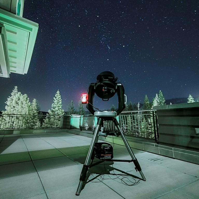 Stargazing at Lake Tahoe CA