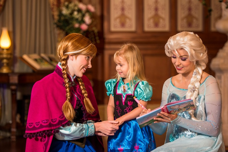 Obsessed with Frozen; never too old for princesses in Orlando