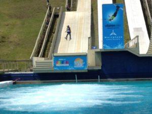 Summer Ski Jumping at the Lake Placid Nordic Center