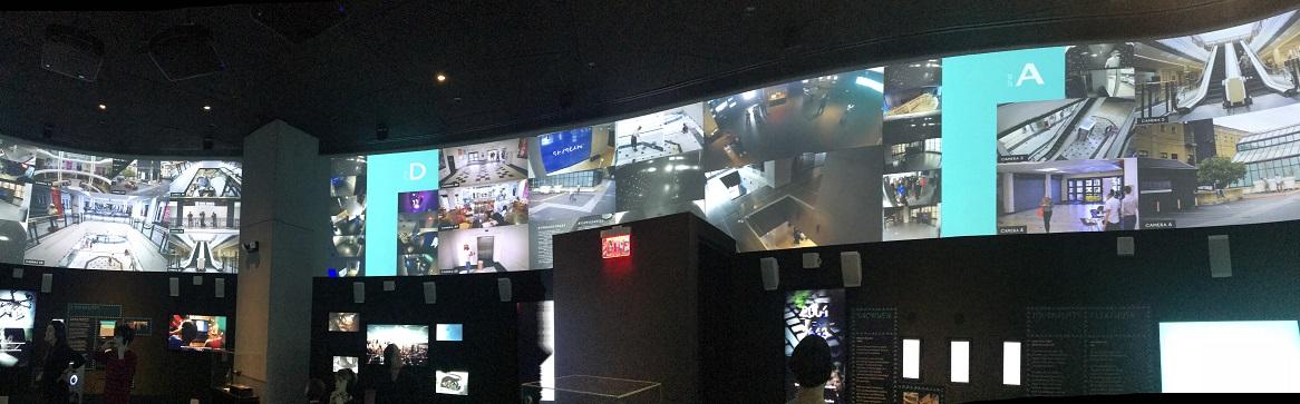 Surveillance Room at Spyscape