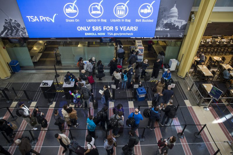 The Shutdown is having big effects on the travel industry too