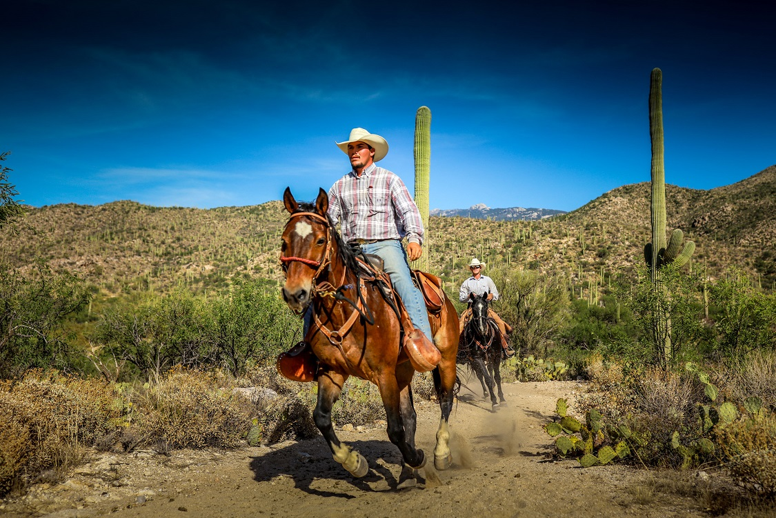 Tanque Verde Ranch Loping Riding