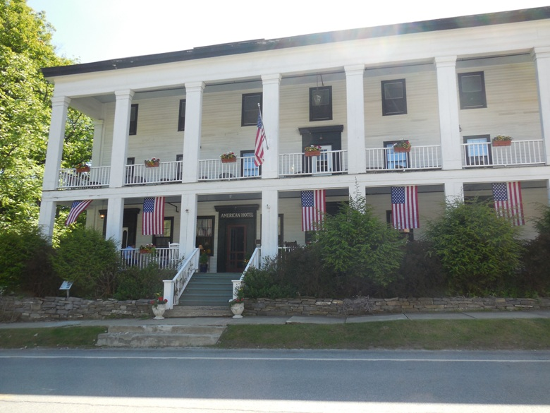 The American Hotel in Sharon Springs NY