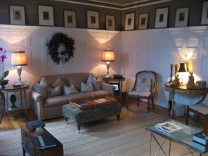 The Living Room at The Clifton Inn