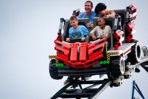 The Technic Coaster at LEGOLAND Florida