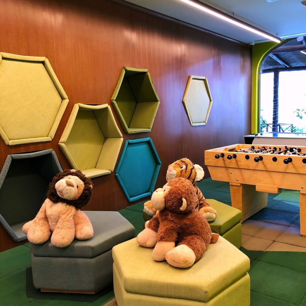 The all-new Kids Club at the resort
