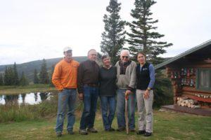 Three generations of Camp Denali ownership