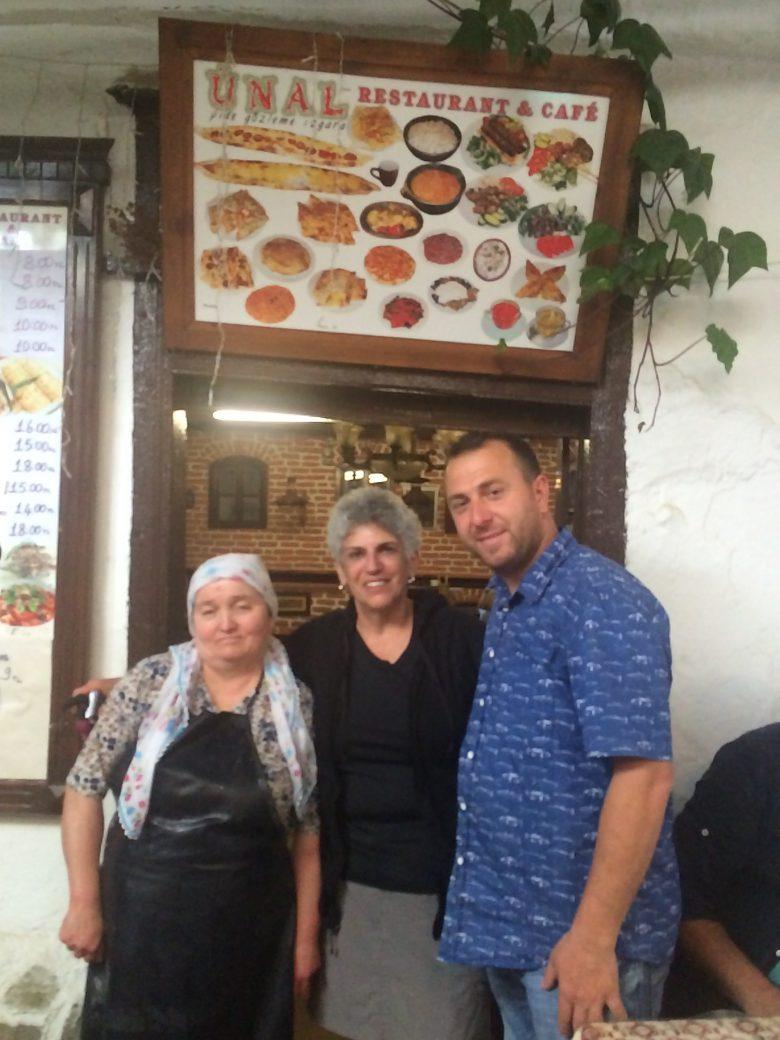 Tiny restaurant UNAL in Turkish village of Sirince