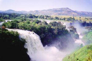 Tissisat Falls on the Blue Nile