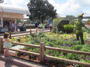 Topiary garden at Epcot