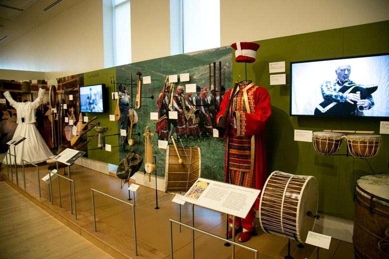 Turkey Exhibit at Musical Instrument Museum in Phoenix AZ