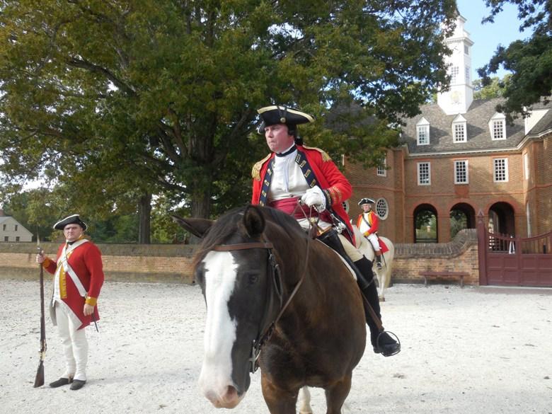 21st Century meets 18th in Colonial Williamsburg – huzzah!