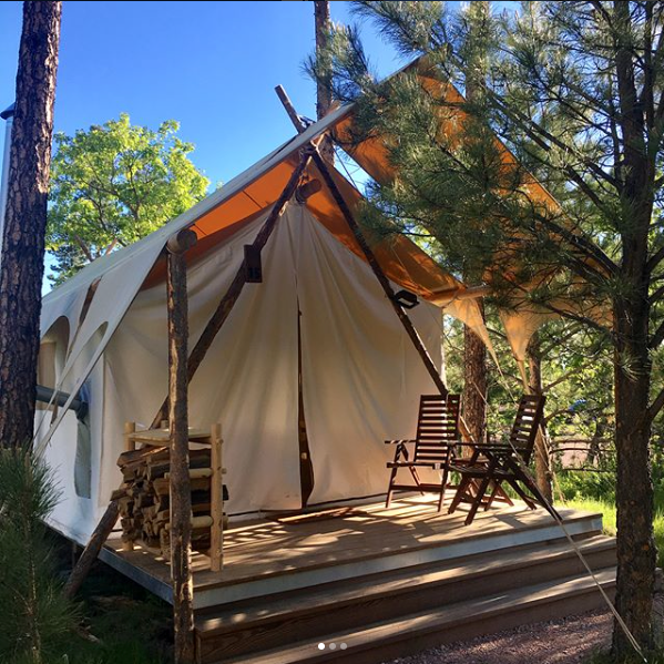 Under Canvas is Keystone, South Dakota's newest glamping experience