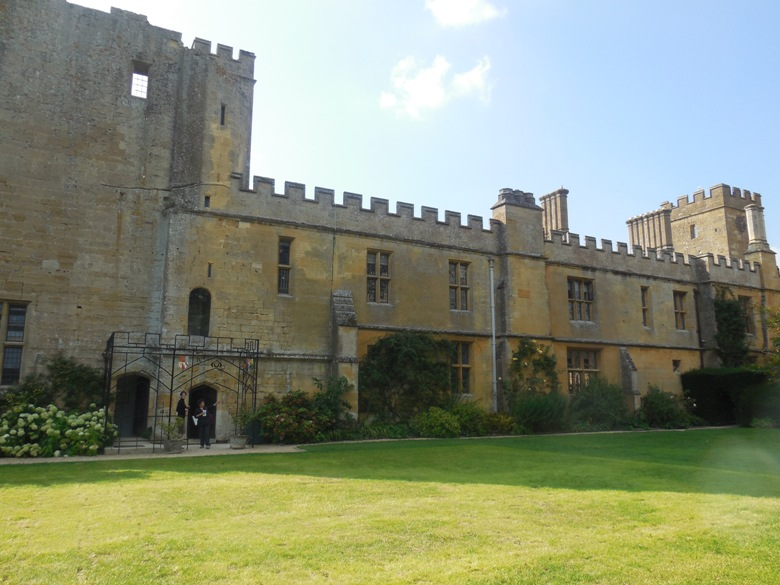 English History at Sudeley Castle in Cotswolds