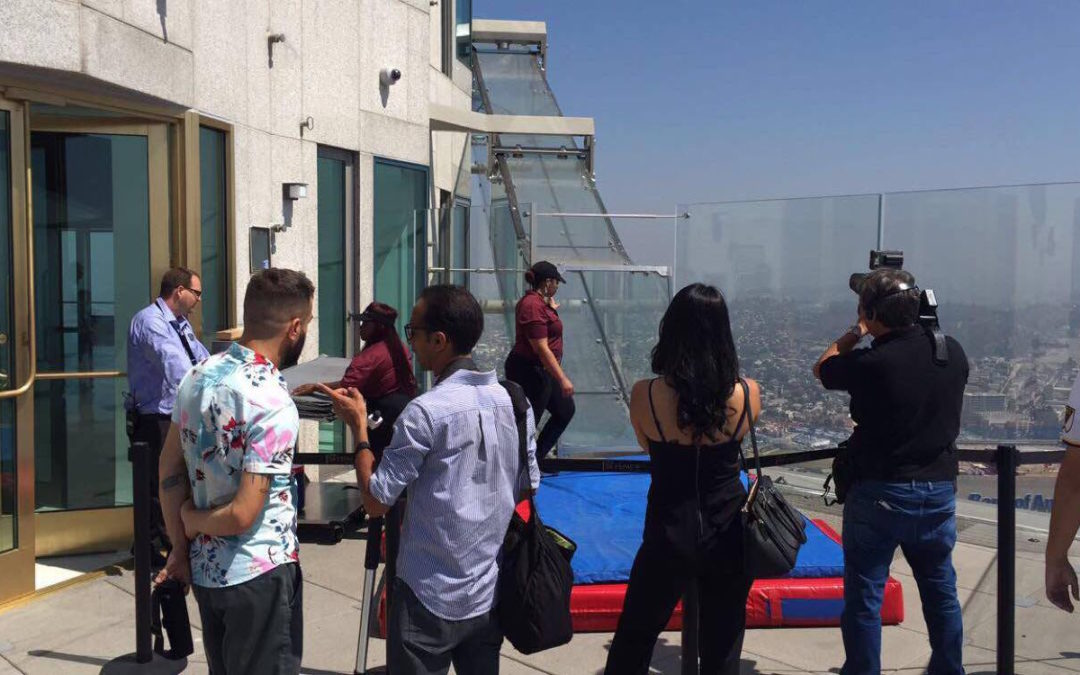 One-of-a-Kind Slide Experience at OUE Skyspace LA