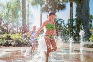 Water Jet Splash Zone at Hyatt Regency Grand Cypress