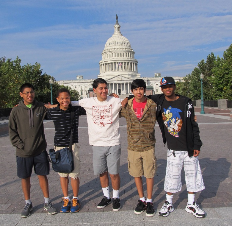 Westport ABC boys at the Capitol