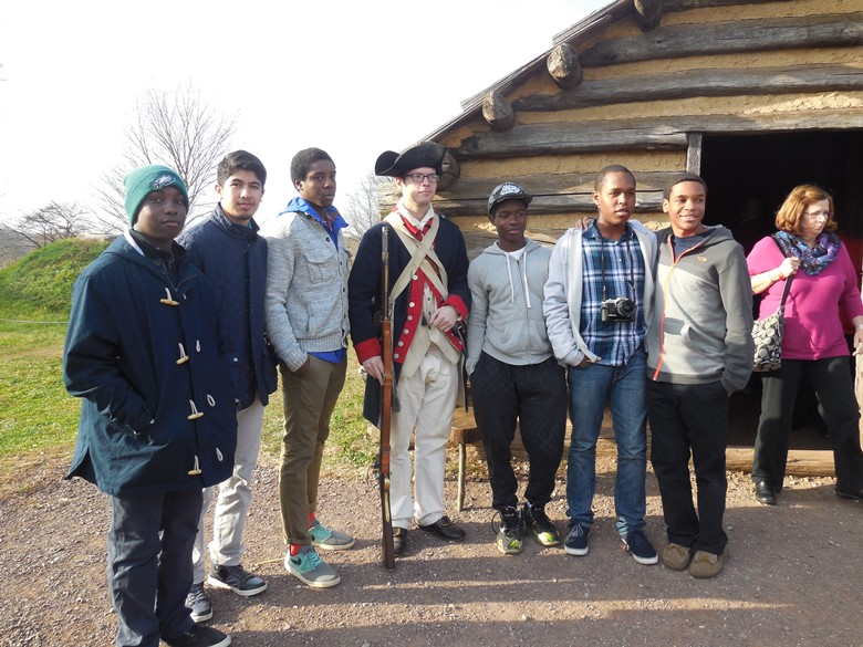 Learning Revolutionary War history in Valley Forge PA