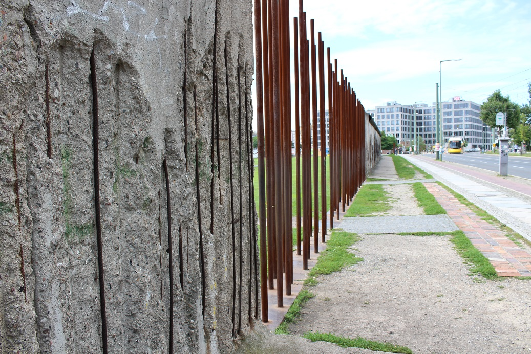 What remains of the Berlin Wall AKA the Anti-Fascist Protective Rampart