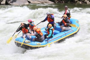 Whitewater rafting on the New River