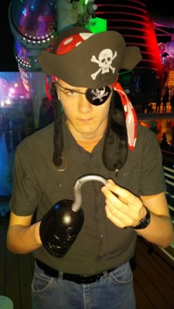 Will thinks the Disney Dream's Pirate Party is the best on the seven seas