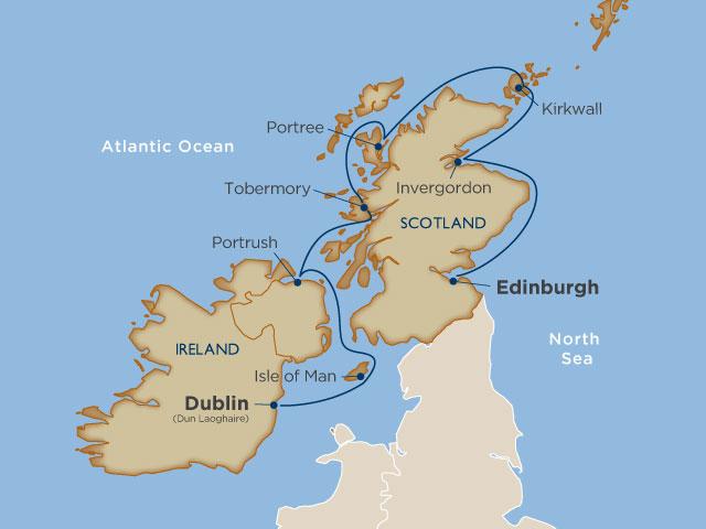 Cruising Ireland and Scotland on a Windstar yacht