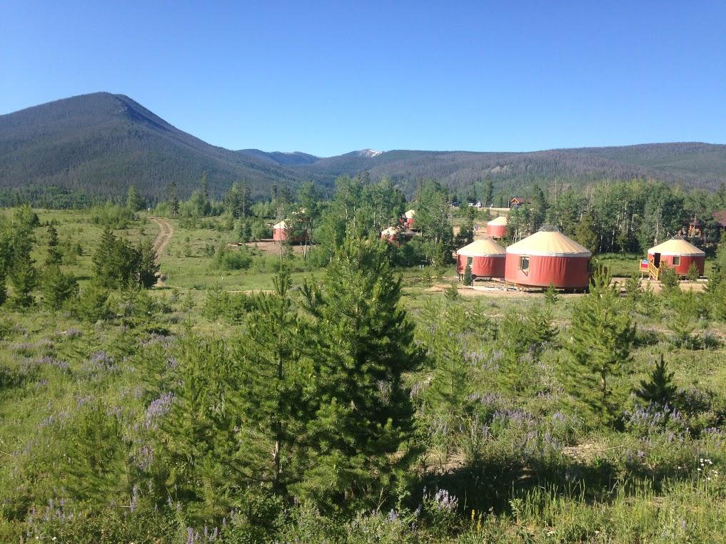 Yurt Village at Snow Mountain Ranch