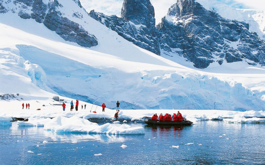 Spending New Year's with the whales in Antarctica