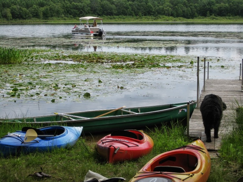 Fun for families on the rivers and lakes in Wisconsin's north woods
