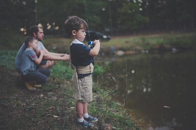 Fishing creates parent-child bonds that last a lifetime