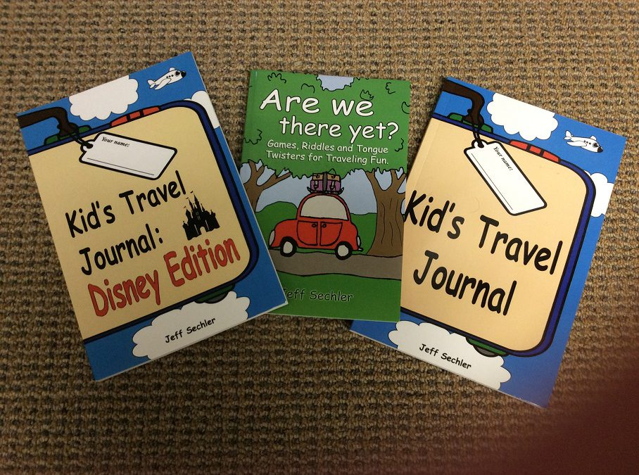 Kids Travel Journals by father of 3