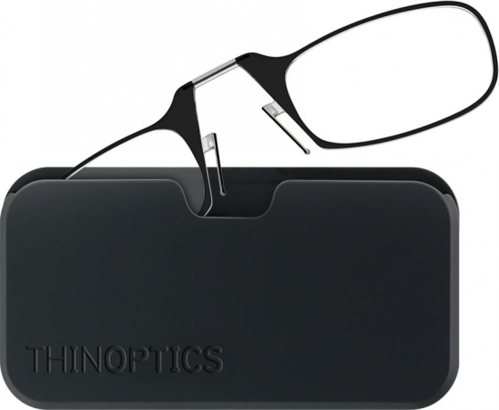 Ultra-thin reading glasses, durable case – perfect for multi-gen travelers