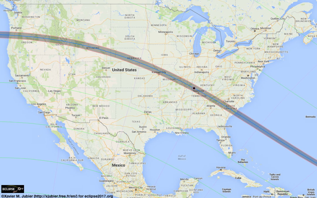 Taking the Kids — to see the solar eclipse on August 21
