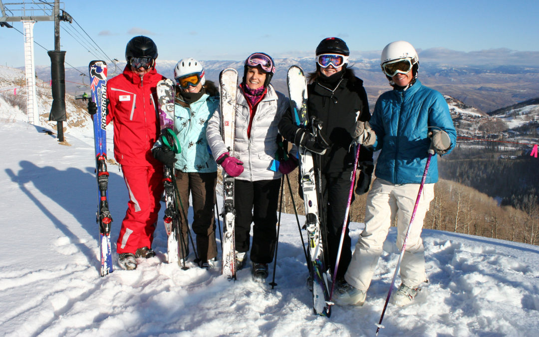 Welcome to the club ladies – wish there were more of these in ski country