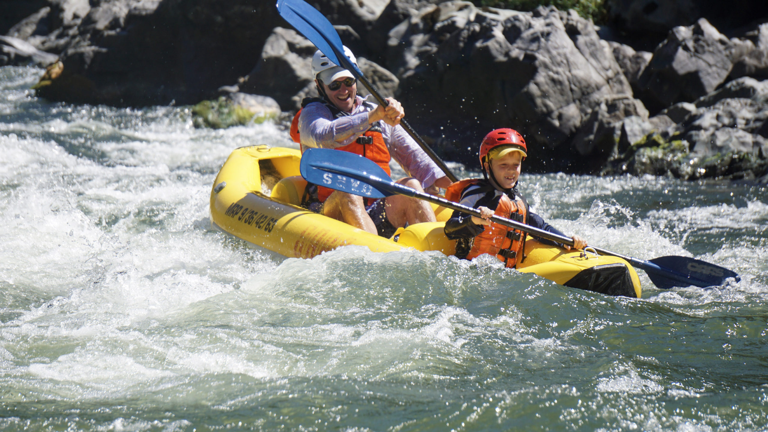 """Riding the river in a """"duckie"""" with OARS"""