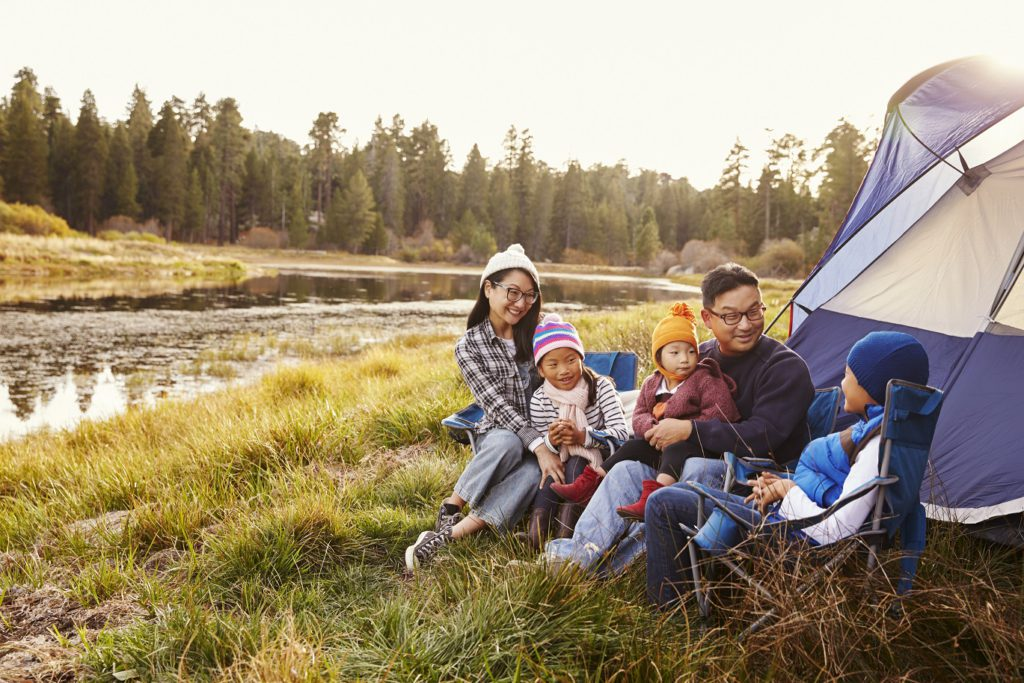 taking the kids, family travel, the kids guide to camping, outdoors, parks, taking kids camping, KOA campgrounds