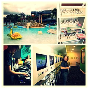 So many activities to choose from - water parks, craft room, Scratch DJ Academy and the Xbox lounge