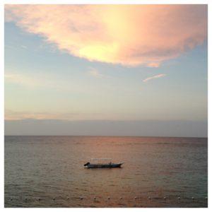 Gorgeous Jamaican sunset