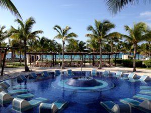 Pool at Riviera Maya Palace Deluxe
