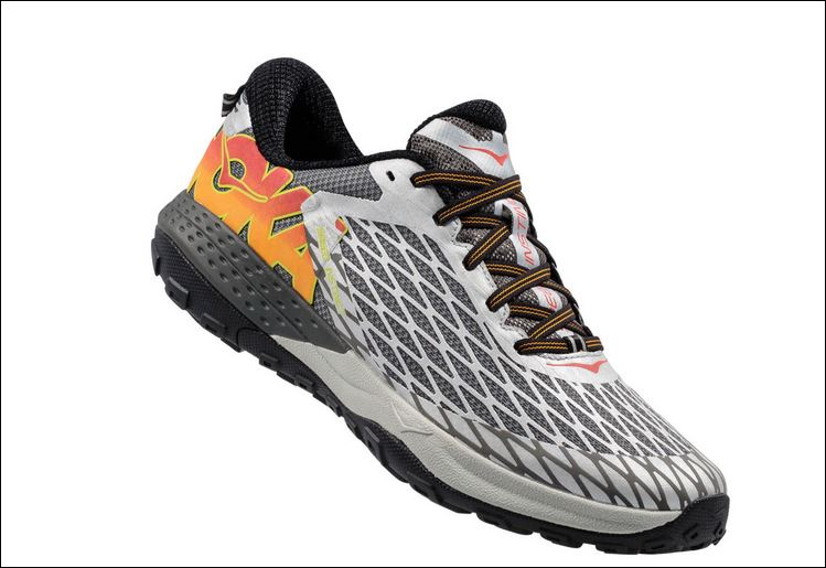 Like running on a cloud with Hoka Trail-Running Shoes
