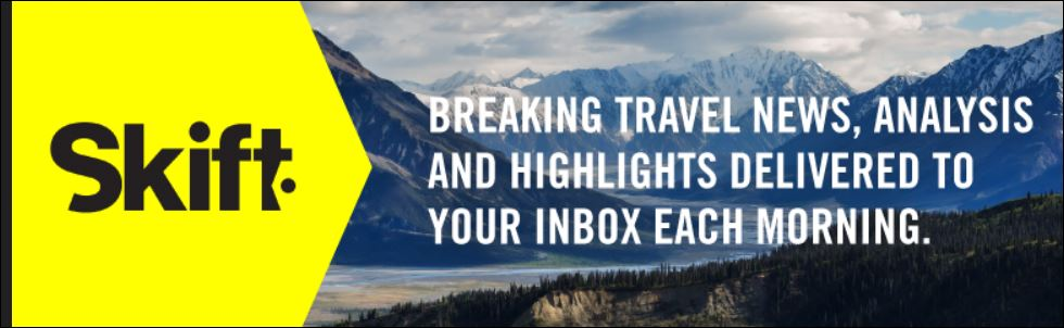 """Quoted on """"skip gen"""" travel in Skift"""