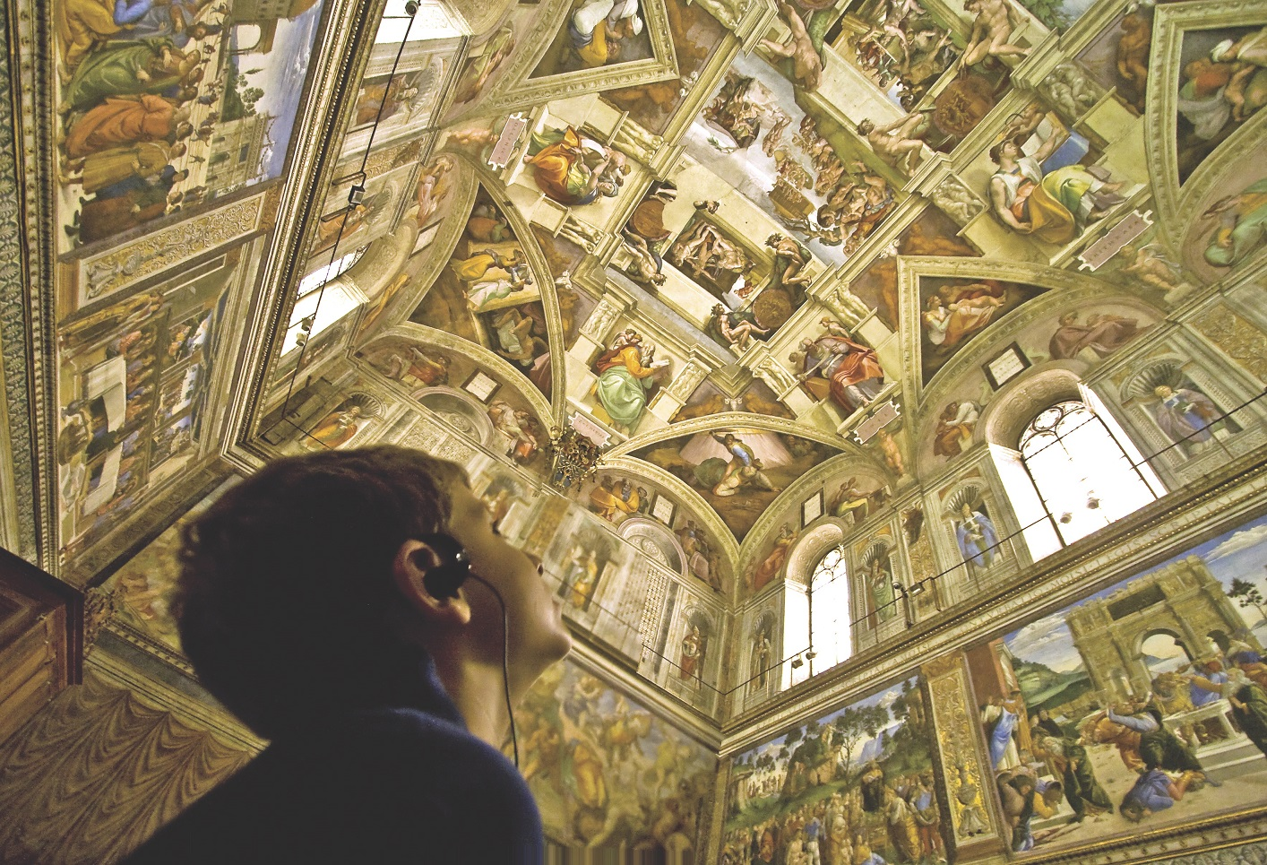 Sistine Chapel after hours