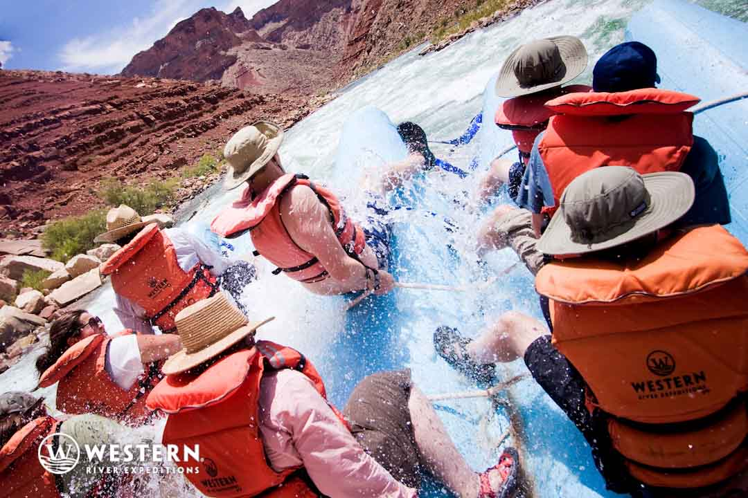 The lower Grand Canyon offers stunning views, milder rapids and some fun side excursions for a shorter Grand Canyon experience