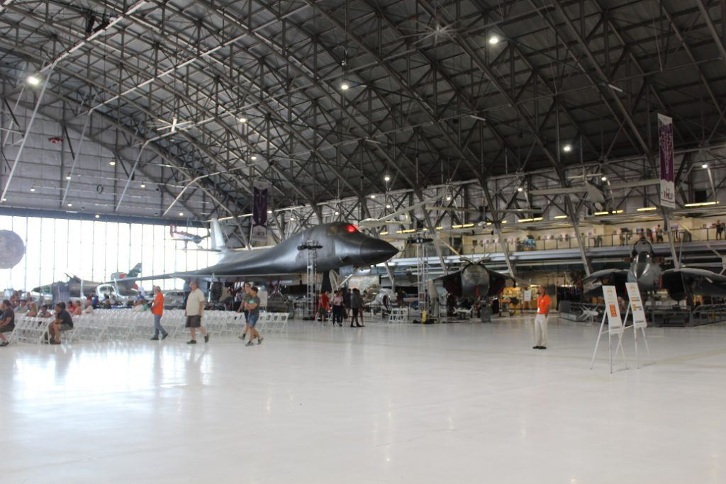 A B1-A bomber at Wings Over the Rockies